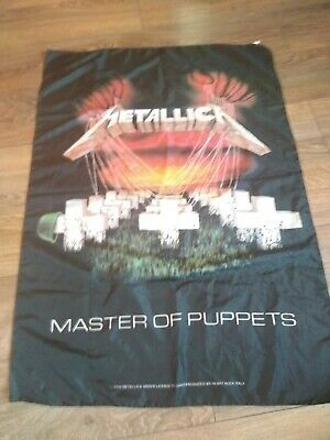 Metallica ' Master Of Puppets ' Scarf / Wall Hanging. • 13£