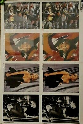 Morrissey & Stones Roses Original Poster - The Cure Vox Magazine Printing Proof • 9.99£