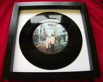 Oasis Whats The Story Morning Glory  Unique  Replica 7  Vinyl Framed Ideal Gift  • 16.99£