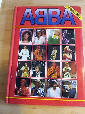 ABBA Annual 1982 Good Condition Generally • 0.99£