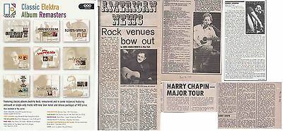 Harry Chapin : Cuttings Collection  • 2.50£