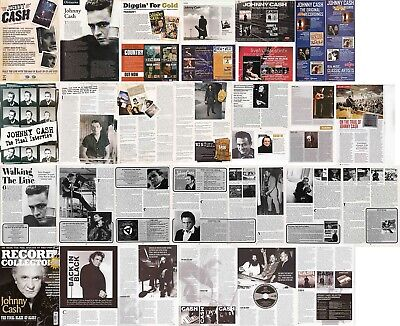 JOHNNY CASH : CUTTINGS COLLECTION - Adverts Interview  • 5£