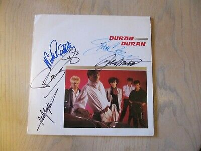 Duran Duran Album Signed By The Boys • 51£