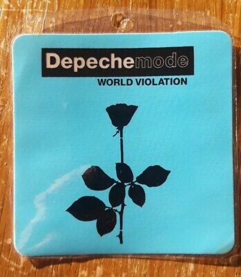 Depeche Mode Backstage Pass, Blue Square, World Violation • 9.99£