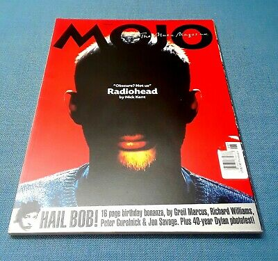 Radiohead * Rare 2001 Oop Mojo Special Pictorial Edition * Thom Yorke Bob Dylan • 14.78£