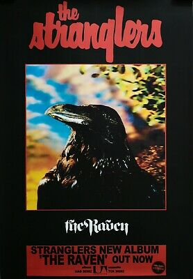 The Stranglers The Raven Poster  • 18£