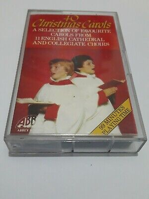 Christmas Carol's From Cathedral & Collegiate Choirs--Cassette Album • 4.90£