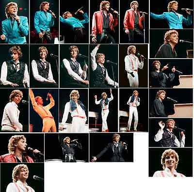 25 Barry Manilow Colour Concert Photographs - Wembley 19th November 1984  • 7.49£