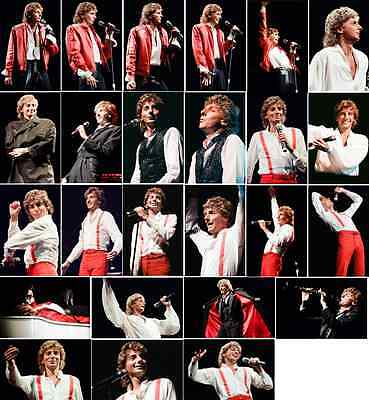 25 Barry Manilow Colour Concert Photographs - Wembley 18th November 1984  • 7.49£