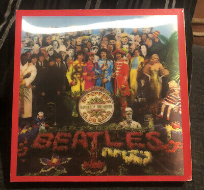 THE BEATLES Sgt. Pepper's Lonely Hearts Club Band 4-CD + Blu-ray/DVD Box Set • 74.99£