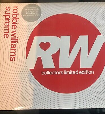 Collection Of Robbie Williams Collectors CDs Limited Editions • 9£