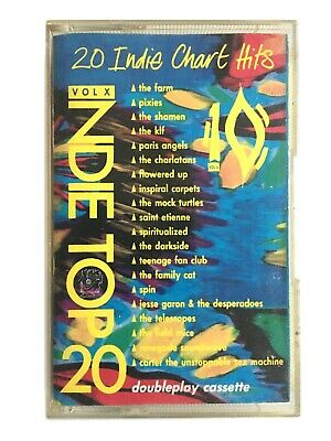 Various - Indie Top 20 Vol X - Cassette - Spiritualized, Pixies, Family Cat, KLF • 7.49£