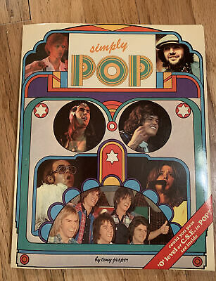 Vintage 1975 Simply Pop Book UK Queen Elton John David Bowie Games Facts Quiz • 9.22£