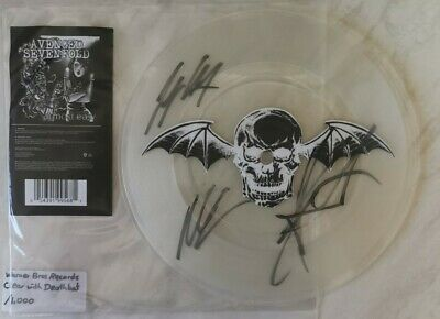 Avenged Sevenfold - Almost Easy SIGNED 7  Vinyl Single A7X • 97£