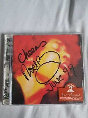 Noel Redding Signed Jimi Hendrix Electric Ladyland Cd. Signed In 1999  • 129.99£