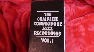 Mosaic   The Complete Commodore Jazz Recordings Vol 1  - Mint • 95£