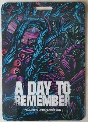 A Day To Remember Fan Club Pass 2009 Homesick  • 0.99£