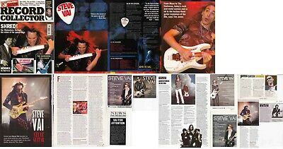 STEVE VAI : CUTTINGS COLLECTION - Interviews Adverts  • 3.70£