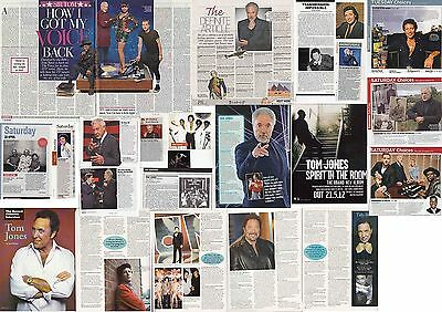 TOM JONES : CUTTINGS COLLECTION - Interviews  • 5£