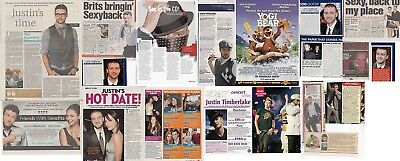 JUSTIN TIMBERLAKE : CUTTINGS COLLECTION - Interviews  • 4£