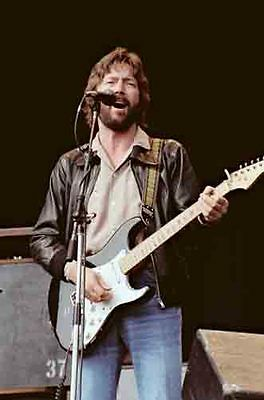 12 *8  Concert Photo Of Eric Clapton, Playing At Blackbushe In 1978 • 3.99£
