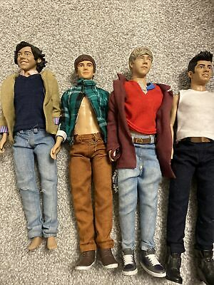 One Direction Dolls All 4 Harry Is Missing His Shoes And Liams Shirt Wont Fasten • 25£