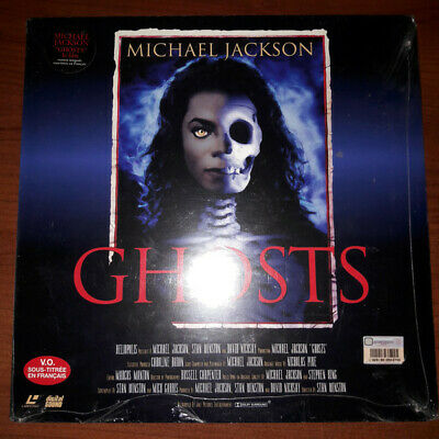 Michael Jackson GHOSTS Laser Disc Limited Edition Sealed Never Opened RARE • 324.95£