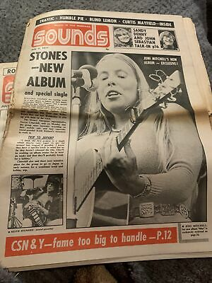 Sounds Newspaper July 3rd 1971 Stones New Album • 12£