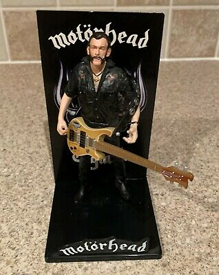Lemmy 7  Figure With Bass & Stand Ex..kilminster Motorhead • 10.50£