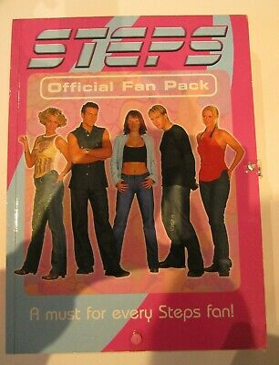 STEPS 2001 Official Genuine Fan Pack BNIB Very Rare Includes Beanie & Lanyard • 200£