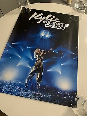 Kylie Minogue Official Infinite Disco Lithograph Poster SOLD OUT • 44.99£