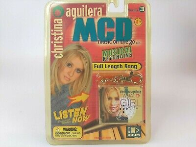 MCD Music On The Go- Christina Aguilera - What A Girl Wants -Musical Keychain • 21.44£
