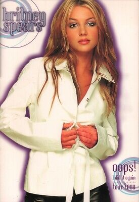 Britney Spears 2000 Oops! I Did It Again Tour Concert Program Book / Ex 2 Nmt • 57.21£