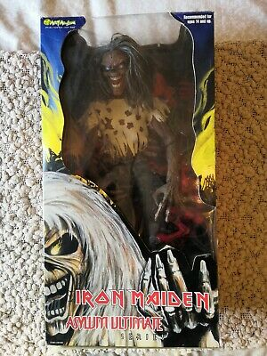Rare IRON MAIDEN Number Of The Beast ASYLUM ULTIMATE EDDIE 16  Figure Boxed 💀 • 120£
