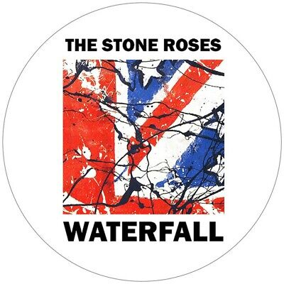X 2 The Stone Roses Second Coming & Waterfall Decal  Vinyl Stickers 100mm  4  ,  • 3£