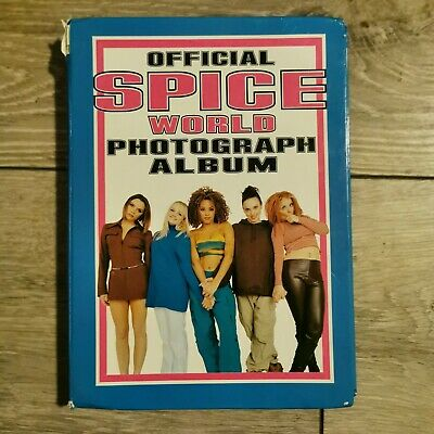 Spice Girls Official Spice World Photo Album - 1997 - 76 Photo's • 8£