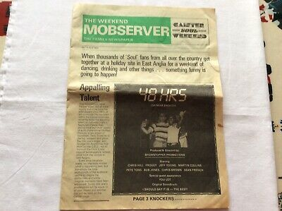 Caister Soul Weekend April 1984 Caister 13 Mobserver The Family Newspaper • 7£