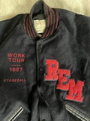 REM Staff Tour Jacket 1987 RARE • 171.65£