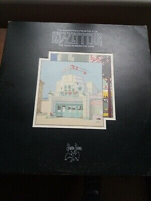 First Press Led Zeppelin The Song Remains The Same 1976 • 16£