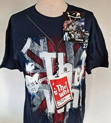 The Who / Hard Rock Café T-Shirt / Signature Series / New With Tags / Medium • 8£