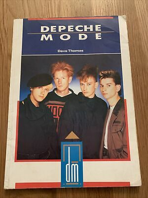 Depeche Mode Book By Dave Thomas • 3£