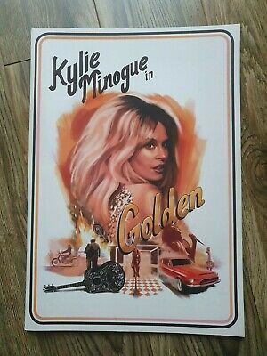 🎉Kylie Minogue - 🎉Golden Concert/Tour Programme🎉(EXCELLENT CONDITION)🎉 • 35£