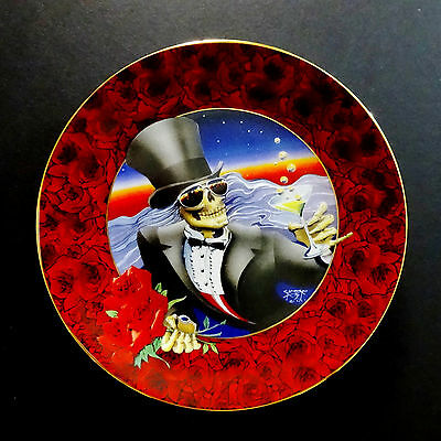 Grateful Dead Plate Stanley Mouse One More Saturday Night 1997 Hamilton Plates • 214.57£