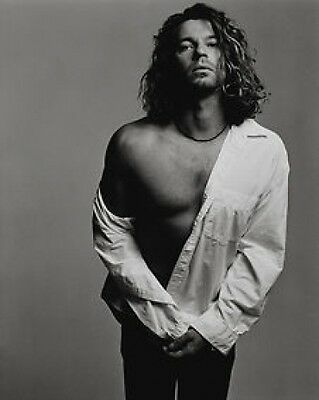Michael Hutchence INXS Sexy BW 10x8 Photo • 5.99£