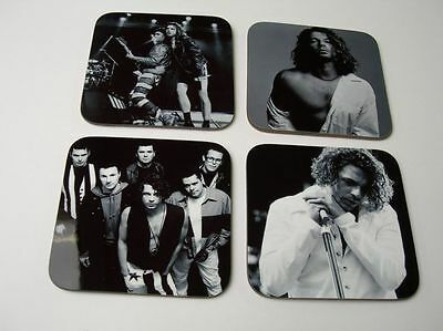 Michael Hutchence INXS BW COASTER Set • 8.99£