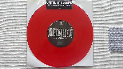 Metallica - Until It Sleeps (mint) Limited Edition Red 10  • 24.99£