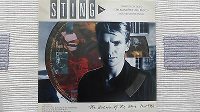 Sting - The Dream Of The Blue Turtles (Very Rare/Mint) Pic Disc Album • 24.99£