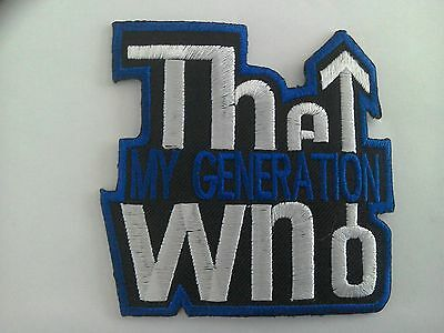 The Who Mod Patch • 3.45£