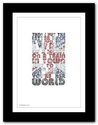 THE STONE ROSES ❤ Sally Cinnamon ❤ Poster Limited Edition Print In 5 Sizes #14 • 15.95£