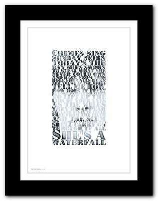 THE STONE ROSES ❤ Waterfall ❤ Typography Poster Art Lyrics Print In 5 Sizes #28 • 9.95£